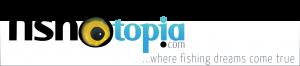 Fishotopia website logo - where fishing dreams come true.