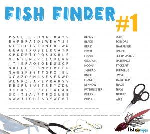 fishotopia kids fishing activity - Fish Finder 1