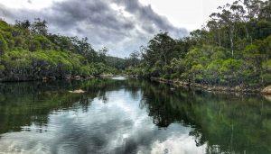 The rock bar on Womboyn, NSW ©fishotopia