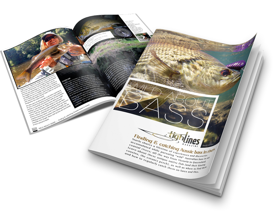 Wild About Bass issue Tight Lines Magazine
