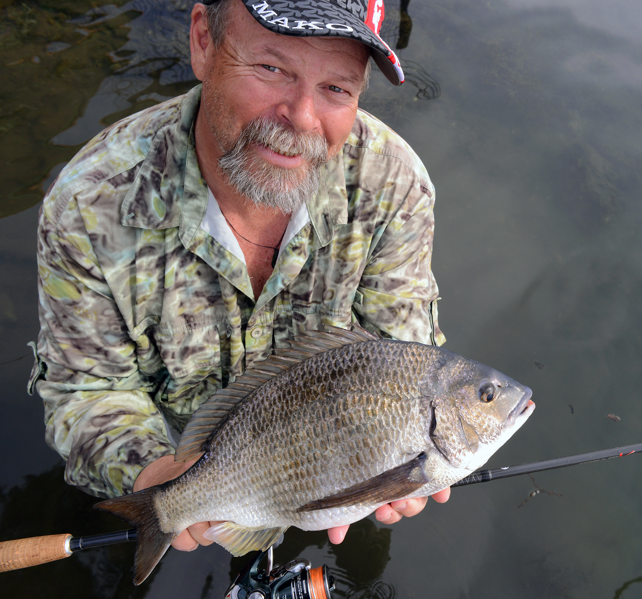 The Tuross Head region producing thumping bream at times!