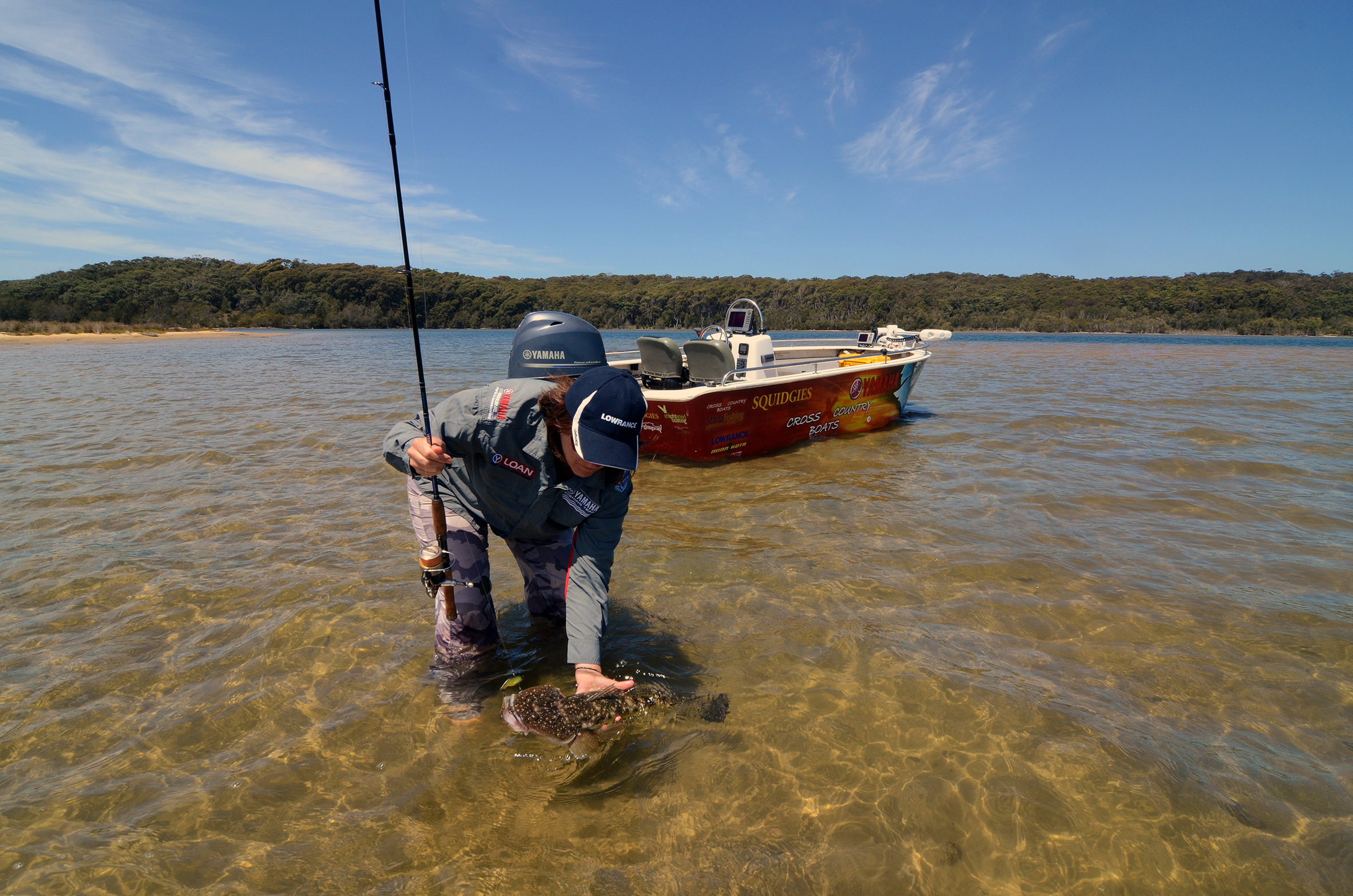 Abundant shallow, warm flats produce excellent action on flathead and other species at Tuross Head, NSW.